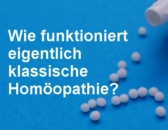 Vortrag über Homöopathie in Bodenheim